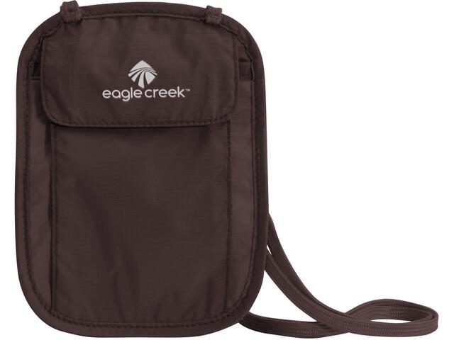 Eagle Creek Undercover Neck Wallet, marrón